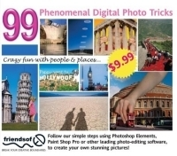 99 Phenomenal Digital Photo Tricks: Crazy Fun with People & Places (US English) артикул 1346a.